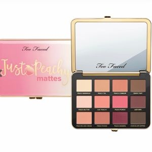 Brand New Too Faced Just Peachy Matte